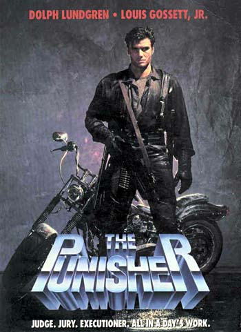 The Punisher Movie 1989 The Punisher Suffers From