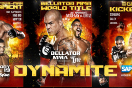 Bellator and Glory Team-Up to produce 'Dynamite' on September 19th