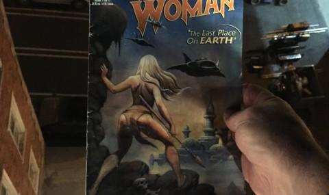 Comics on the Condor – The Tiger Woman #1 (2001)