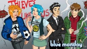 Chynna Clugston Flores' 'Blue Monday' and More Return at Image Comics