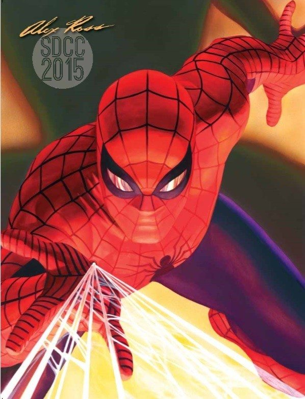 Alex Ross Exclusives at SDCC 2015