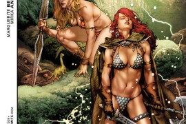 Review: Swords of Sorrow: Red Sonja/Jungle Girl #1 (of 3)