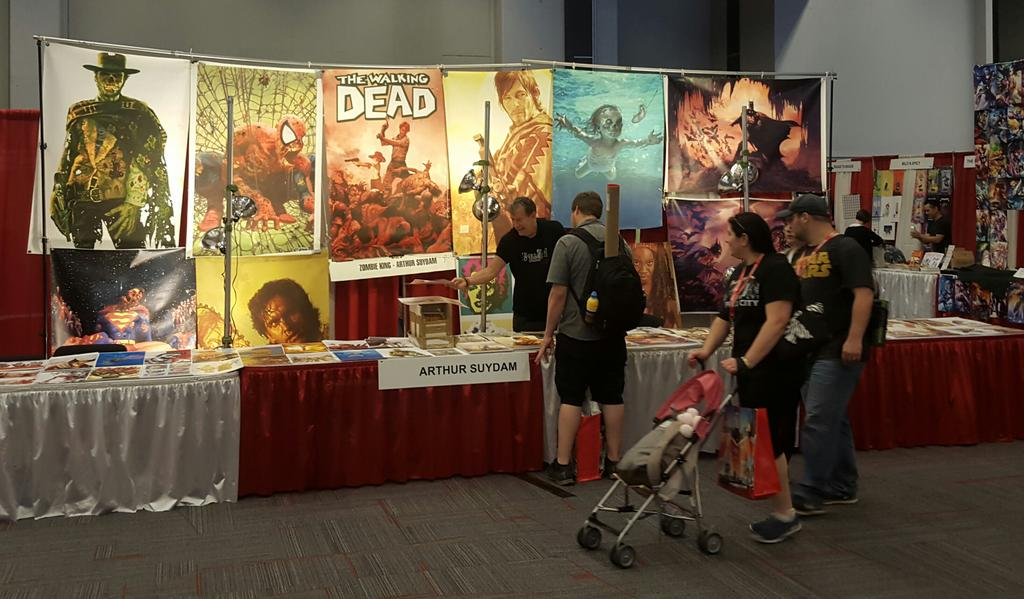 UPDATE X2 – Table-Swiping at Montreal Comiccon has Creators Pissed Off, and Rightly So